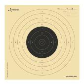 Flip-Target Schietkaarten Air Pistol 10 Mtr. 14x14 cm