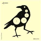 Flip-Target Schietkaarten Crow Hunting 14x14 cm