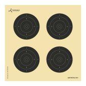 Flip-Target Schietkaarten Precision Air Rifle 25/50 Mtr. 14x14 cm