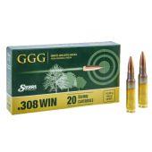 GGG, Sierra MatchKing .308 Winchester 168 Grain HPBT