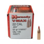 Hornady V-Max .22 Kaliber (.224) 55 GR. #22271