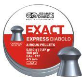 JSB Exact Express Diabolo 4,5mm 0.510 Gr.