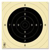 Kruger Schietschijf Vrij-/Sportpistool / 100 mtr.KKG #3130N
