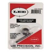 Lee Case Lenght Gauge and Shellholder 10mm #90127