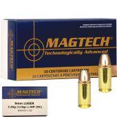 Magtech 9mm Para JHP 115 Gr.