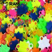Ram Schietsterren Gekleurd Kunststof, 500 Stuks