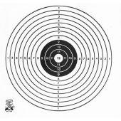 Schietkaarten J.Mikx Karton 17x17 cm 1 Roos