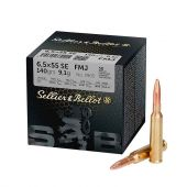 Sellier & Bellot 6,5x55 SE. FMJ 140 Gr. Training 50 Stuks