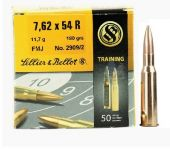 Sellier & Bellot 7,62x54R FMJ 180 Gr.Training