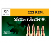 Sellier & Bellot .223 Rem. SoftPoint 55 Gr.