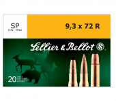 Sellier & Bellot 9,3x72R SP 193 Gr.