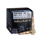 Sellier& Bellot .308 Win. Soft Point 180 Gr. 50 Stuks
