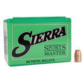 Sierra Sports Master .38 Cal (.357) 140 GR. JHP #8325