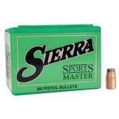 Sierra Sports Master .38 Cal (.357) 158 GR. JHC #8360