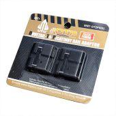 Sun Optics 2-Delig Adapter van 11 mm Dovetail naar Weaver-stijl