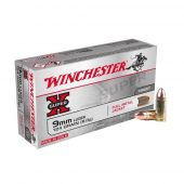 Winchester Super-X 9 mm Luger 124 Grain FMJ