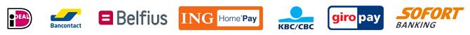 Veilig en snel betalen met uw eigen bank!